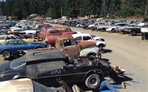new car salvage yard classic cars live on at new spanaway salvage yard the