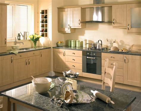birch cabinets kitchen grey granite and birch cabinets for the home pinterest