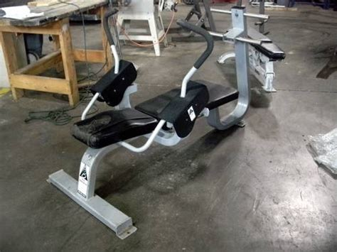 precor ab bench 499 used fitness equipment clearance abs and benches