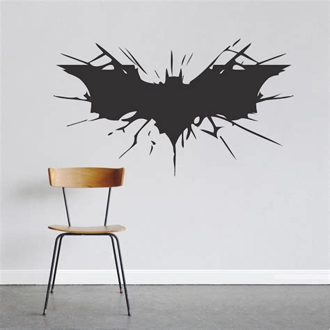 sticker wall decals bat wall decal large boys bedroom wall designs