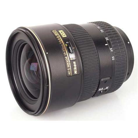 Nikon Lens Af S 17 35mm F2 8d nikon af s 17 55mm f 2 8g if ed dx nikkor harga dan
