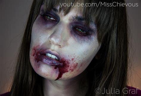 tutorial makeup zombie simple 10 last minute halloween make up ideas