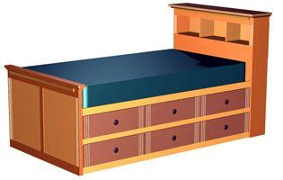 kids bedrooms build   platform bed  twin
