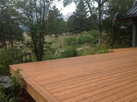 Tessa 3in1 Semi Premium cabot deck stain in semi transparent ocher best deck