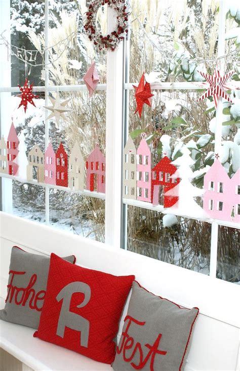 Fenster Deko Weihnachten Diy by Die Besten 25 Fensterdeko Weihnachten Ideen Auf