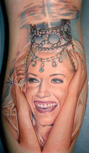 gwen stefani tattoos large image leave comment