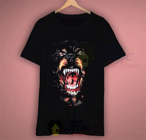 rottweiler t shirt givenchy givenchy rottweiler retro t shirt mpcteehouse 80s tees
