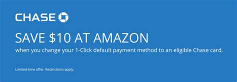 amazon one click amazon 1 click default payment offer get 10 amazon