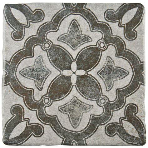 floor and wall decor merola tile costa cendra decor clover 7 3 4 in x 7 3 4 in