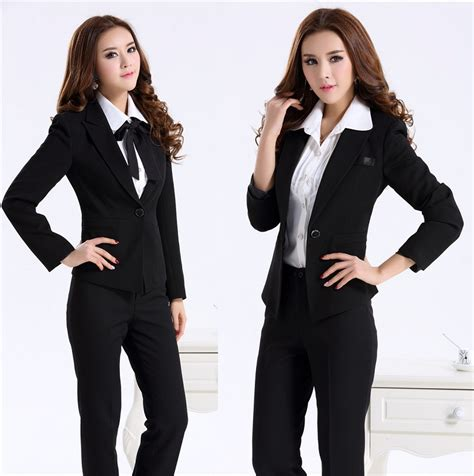 formal office uniform design women professional work