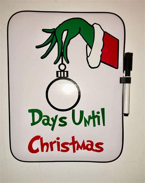 grinch christmas countdown board dry erase kids xmas decor christmas christmas countdown