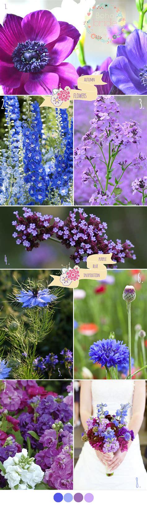 corn flower blue flower inspiration early autumn wedding flower inspiration boho bride