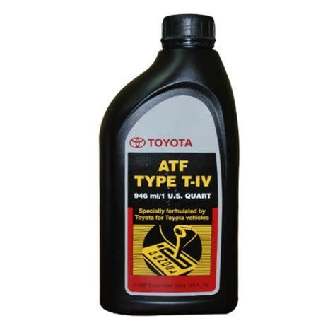 Toyota Atf Type T Iv трансмиссионные масла масла акпп и гур Toyota Toyota Atf