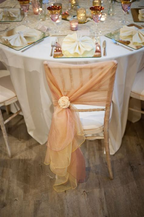 pink and gold chair sashes 90 best images about emerald and blush wedding on