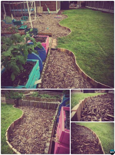 recycled garden edging ideas creative garden bed edging ideas projects