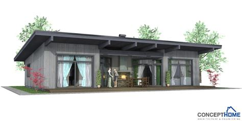 Contemporary House Plans Small Modern House Plan Ch61 Modern House Plans 2012