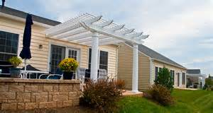Pergola Attached To House » Home Design