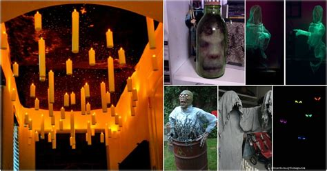gruesome diy haunted house props    halloween