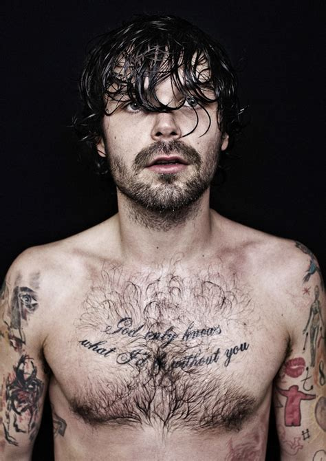 only you tattoo simon neil hair color d and his lovely chest