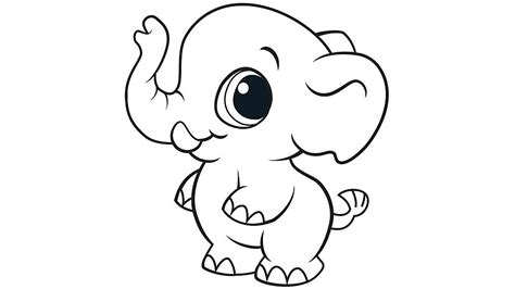 coloring pages of cartoon elephants baby elephant coloring pages to download and print for free