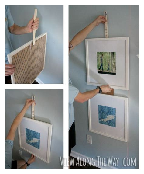 how to hang a picture frame how to hang picture frames the easy way nifty ideas