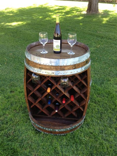 Wine Racks Made Out Of Wine Barrels by Wine Rack The Lattice Is Made From Flavor Staves That
