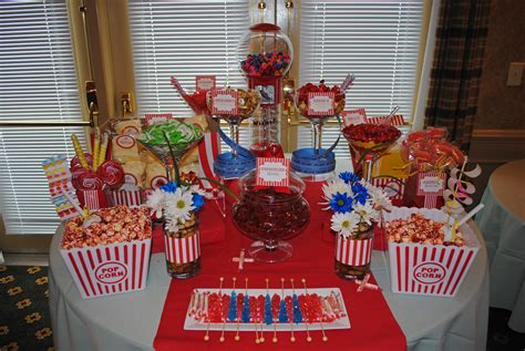 birthday party candy table ideas themed candy