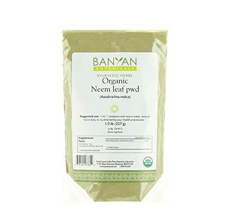 Kapha Detox Banyan by Banyan Botanicals Neem Powder Certified Organic 1 2