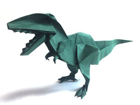 225 best origami dinosaur images on origami