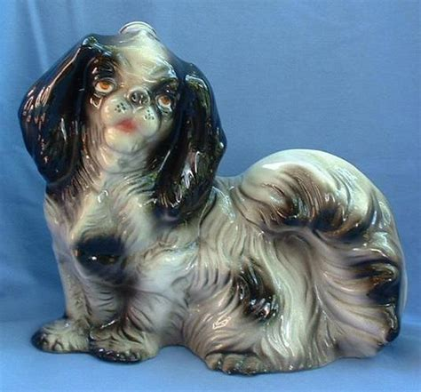 japanese chin and shih tzu 10 quot japanese chin shih tzu decanter italy from morninglineantiques on ruby