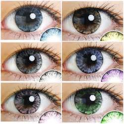 free colored contacts sle eos color contact lenses circle lens free by