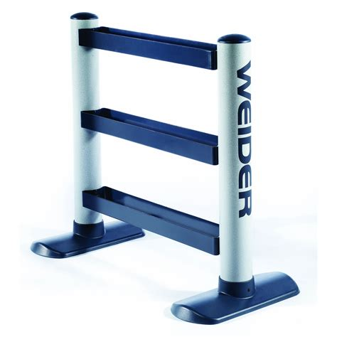 weider universal weight rack with 3 tiers weight