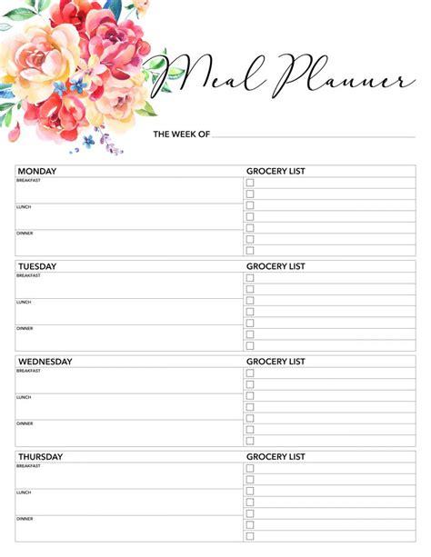 printable  planner   printable pages  cottage market