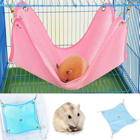 hamster beds bed net cloth house cage hanging hammock mat rat ferret