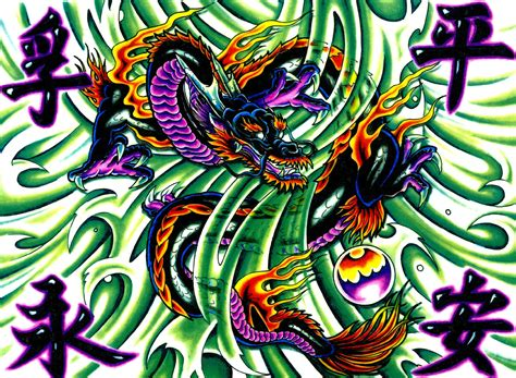oriental tattoo background dragon full hd wallpaper and background image 1972x1445