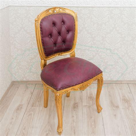 sedie barocco sedia poltroncina barocco in legno con imbottitura