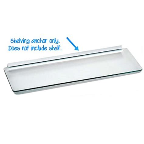 Shelf Anchor by Buy The Knape Vogt 88wh 24 Shelf Anchor White For 5 8 Quot X 24 Quot Shelf Hardware World