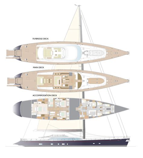 yacht solandge layout red dragon layout arangement yacht charter superyacht news