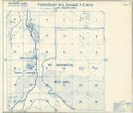 oregon township and range map historic atlas county 1967 oregon historic map works