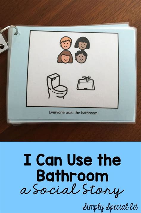 using the bathroom social story social story i can use the bathroom toilets student