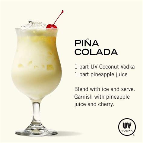 pina colada cocktail simple pina colada recipe non alcoholic