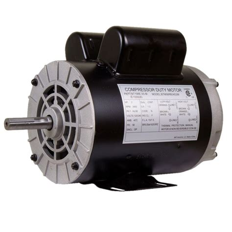 replacement motor for husky air compressor e106044 the home depot
