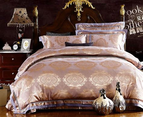 new arrival king size bedding sets jacquard duvet cover