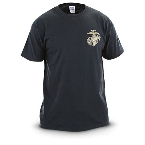 Usmc Tshirt usmc authorized t shirt black 578908 t shirts at