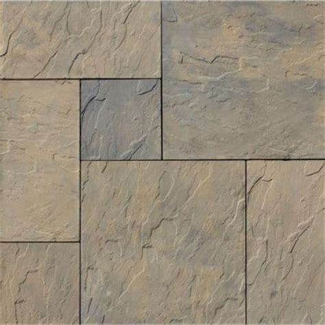 Patio Pavers Prices Home Depot Nantucket Pavers Patio On A Pallet 120 In X 120 In