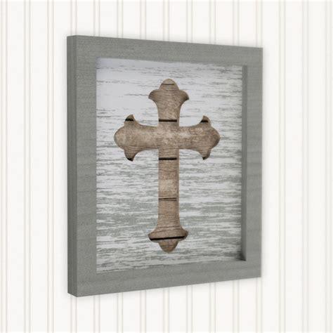 wall decor inspirational decorating a big on wall ideas rustic cross art framed inspirational decor cross wall