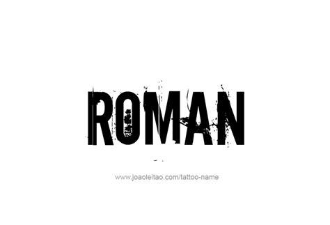 roman  tattoo designs