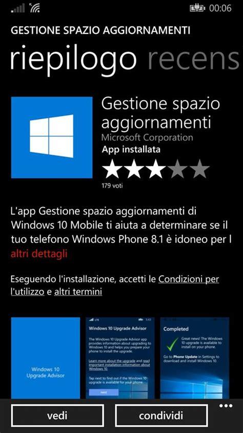 aggiornamento windows mobile guida aggiornare a windows 10 mobile ecco come fare