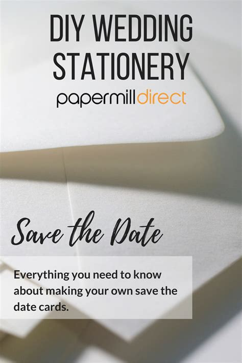 save the date a guide to diy wedding stationery - Save The Date Wedding Stationery Uk