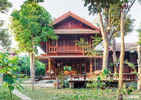 home design company in thailand wooden thai house in the lanna tradition living asean